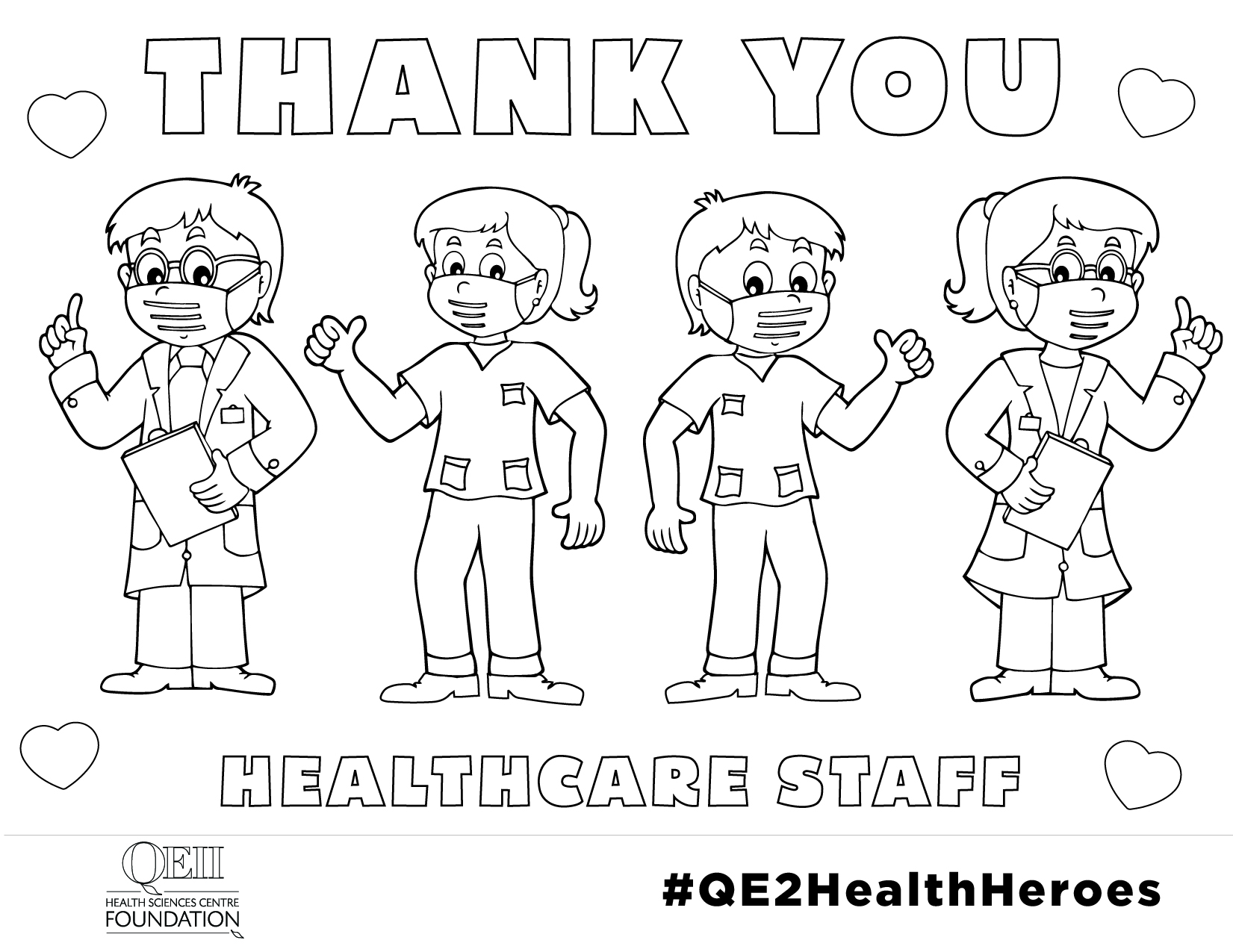 Thank You Healthcare Staff